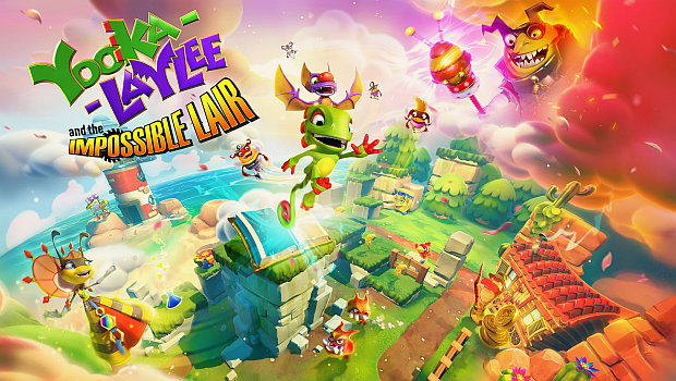 Yooka-Laylee and the Impossible Lair official artwork and logo