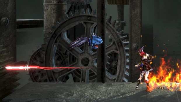 Bloodstained: Ritual of the Night screenshot of the medusa head enemies