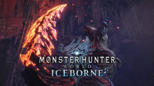 Monster Hunter World: Iceborne trailer screenshot of the new Odogaron monster
