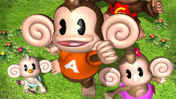 Super Monkey Ball 2 official artwork