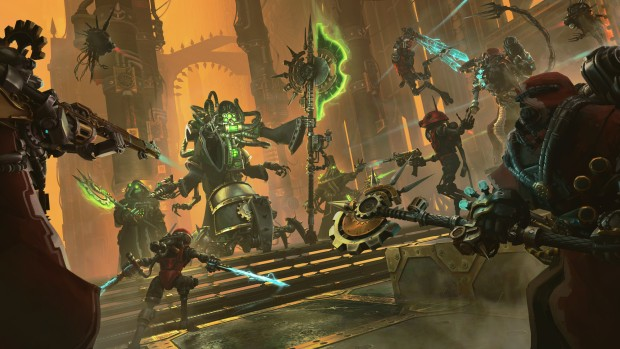 Warhammer 40,000: Mechanicus expansion official artwork without logo