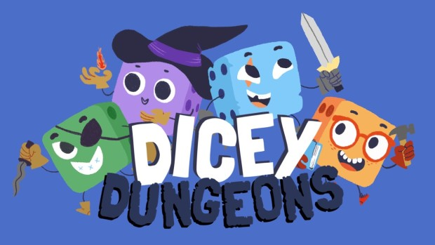 Dicey Dungeons official artwork and logo
