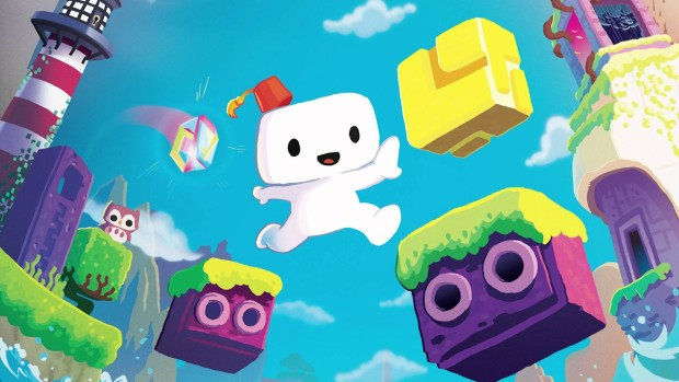 Official artwork for the puzzle-platformer Fez