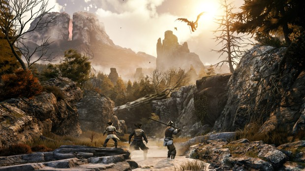Greedfall screenshot of an aerial attack