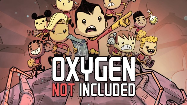 Oxygen Not Included official artwork and logo