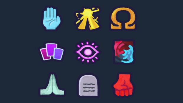 Slay the Spire icons for the brand new fourth character