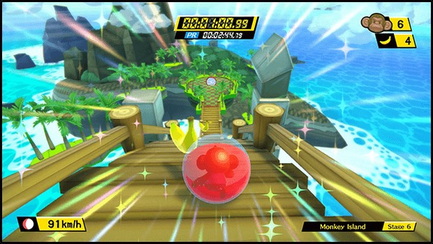 Super Monkey Ball: Banana Blitz HD screenshot of the new Decathlon game mode