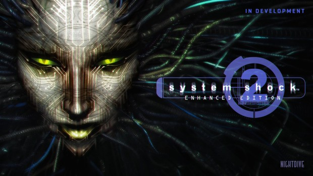System Shock 2: Enhanced Edition official artwork with logo