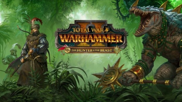 Total War: Warhammer 2 official artwork and logo for The Hunter & The Beast DLC
