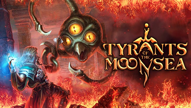 Tyrants of the Moonsea official artwork and logo