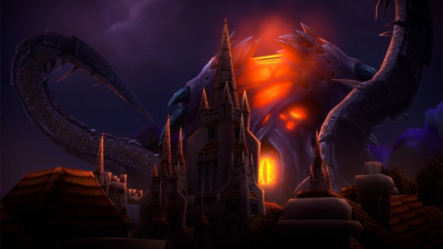 Visions of N'zoth official screenshot showing N'Zoth himself