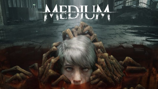 The Medium game official artwork and logo