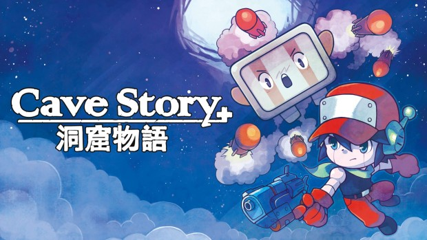 Cave Story+ official artwork and logo