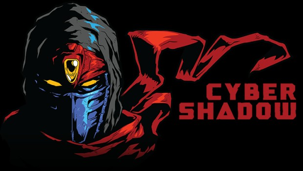 Cyber Shadow official artwork with logo