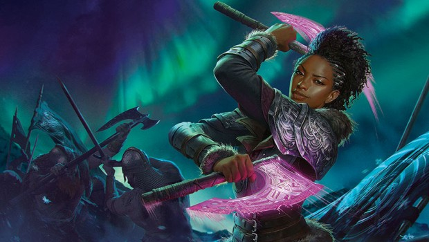 MTG Arena Kaldheim artwork for Kaya