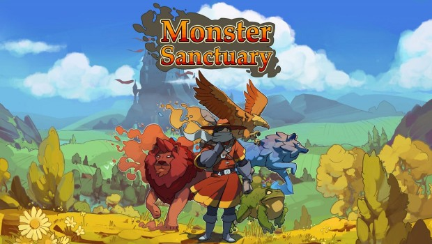 Monster Sanctuary official artwork and logo