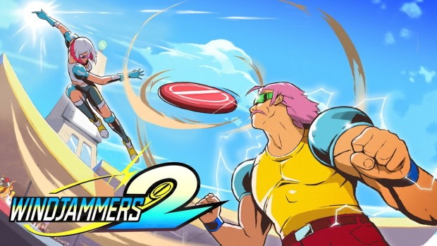 Windjammers 2 official artwork and logo