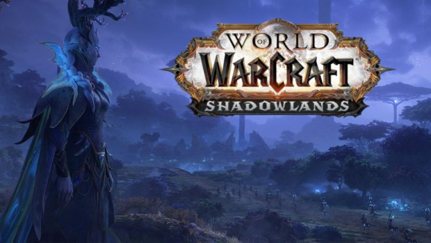 World of Warcraft: Shadowlands artwork for Ardenweald with logo