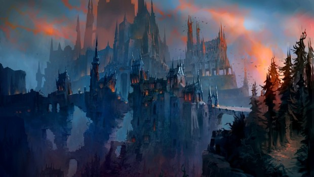 Castle Nathria official concept artwork from Shadowlands