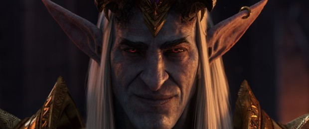 World of Warcraft: Shadowlands artwork for Sire Denathrius from the cinematic