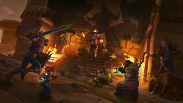 World of Warcraft: Classic artwork for Nefarian's lair raid