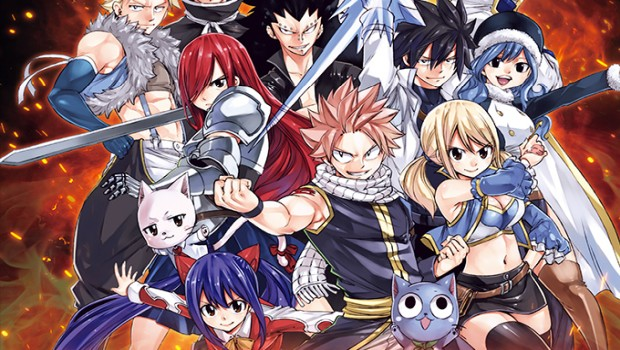 Fairy Tail official artwork without logo