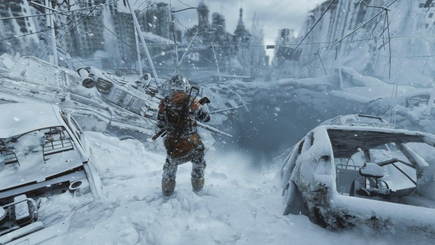 Metro Exodus snowy screenshot from the Expansion Pass