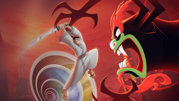 Samurai Jack: Battle Through Time official artwork without logo