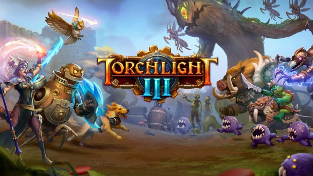 Torchlight 3 official artwork and logo