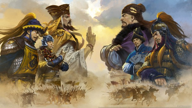 Total War: Three Kingdoms artwork without logo for Mandate of Heaven DLC