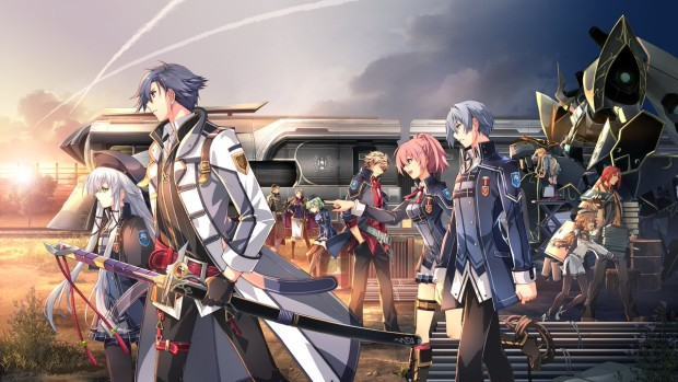 Trails of Cold Steel III official artwork and logo