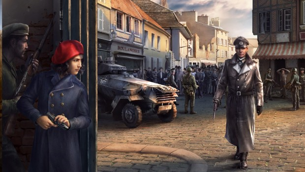 Hearts of Iron IV La Résistance official artwork without logo