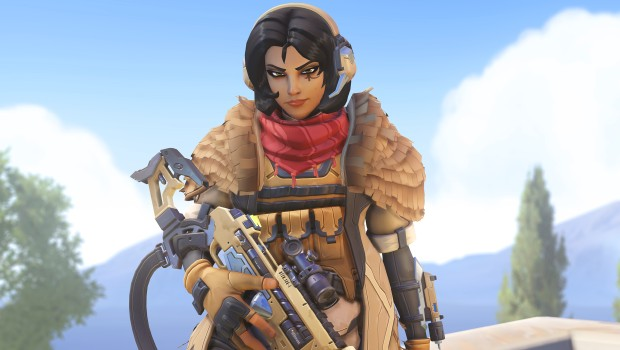 Overwatch Archives 2020 screenshot of the new Ana skin