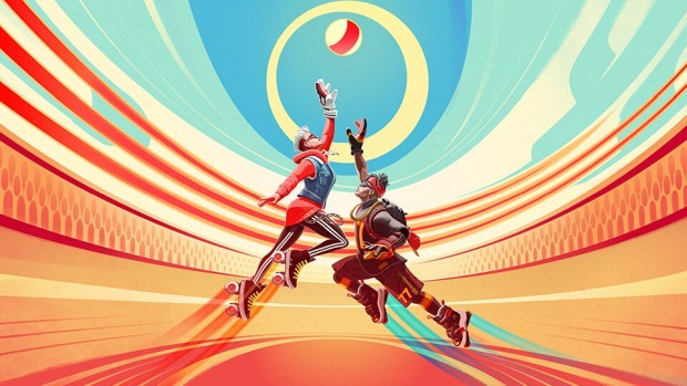 Ubisoft's Roller Champions artwork without logo