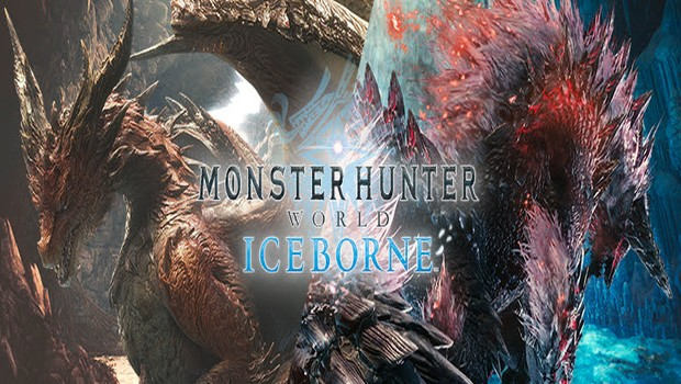 Safi'jiiva and Stygian Zinogre official artwork for Monster Hunter World: Iceborne