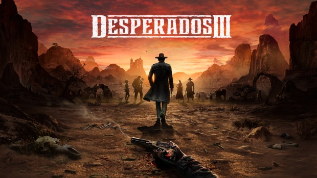Desperados 3 official artwork and logo