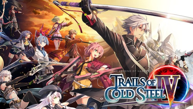 Trails of Cold Steel IV official artwork and logo