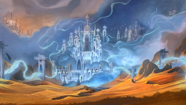 World of Warcraft: Shadowlands artwork for the Bastion zone