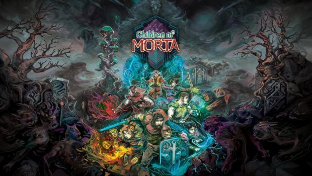 Children of Morta official artwork and logo