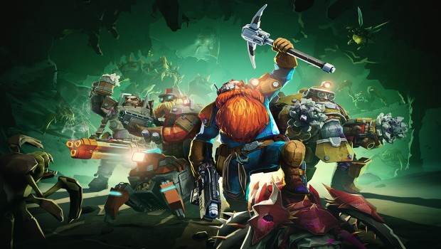 Deep Rock Galactic official artwork without logo