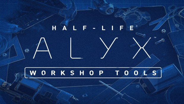 Artwork for Half-Life: Alyx modding tools and workshop support