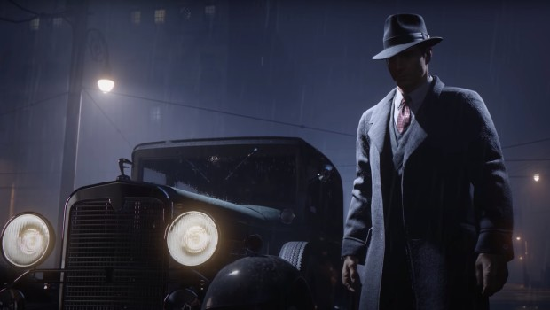 Shadowy screenshot from Mafia: Definitive Edition
