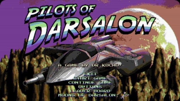 Pilots of Darsalon official artwork of the main menu