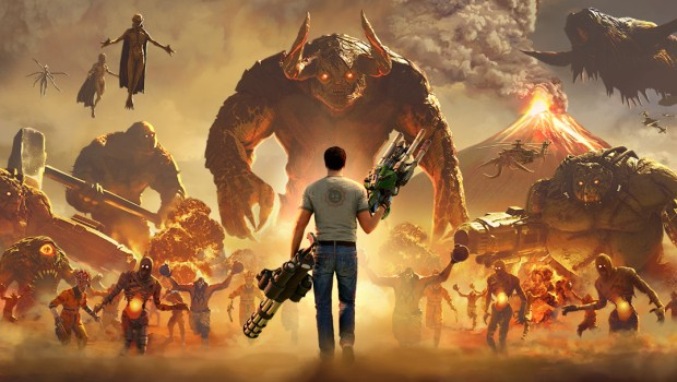 Serious Sam 4 official artwork without logo