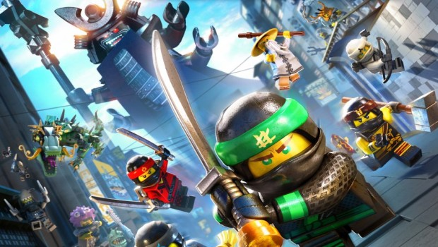 The Lego Ninjago Movie Video Game official artwork without logo