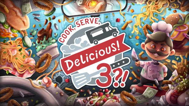 Cook, Serve, Delicious! 3 official artwork and logo