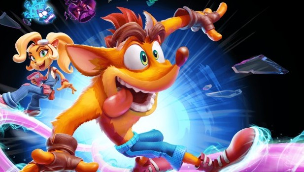 Crash Bandicoot 4 official artwork without logo