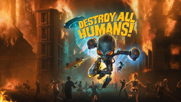 Destroy All Humans! official artwork and logo