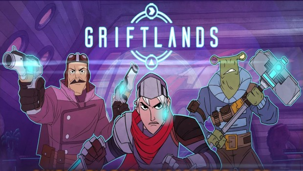 Griftlands official artwork with logo