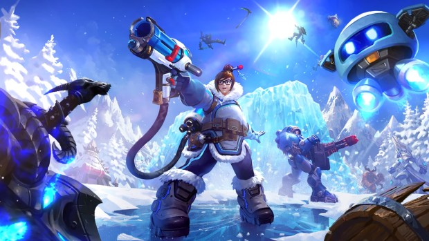 Heroes of the Storm artwork for the hero Mei